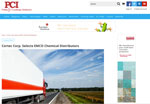 PCI website screen shot